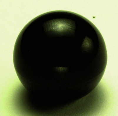 Black Ball Knob- 6mm