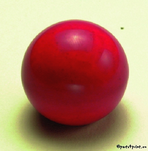 Red Ball Knob- 6mm